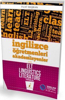 Pelikan Yayınları İngilizce Öğretmenleri ve Akademisyenler için ELT Linguistics Literature Kavramları