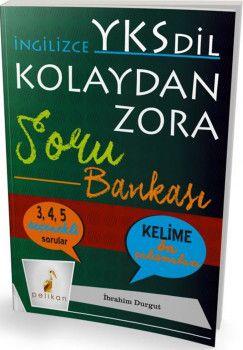 Pelikan Yayınları YKSDil İngilizce Kolaydan Zora Soru Bankası