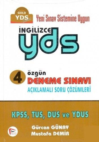 Pelikan Yayınları YDS Özgün 4 Deneme Çözümlü