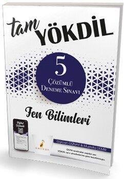 Pelikan YayınlarıTam YÖKDİL Fen Bilimleri Dijital Çözümlü 5 Deneme Sınavı