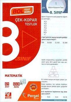 Pergel Yayınları 8. Sınıf Matematik Çek Kopar Testler