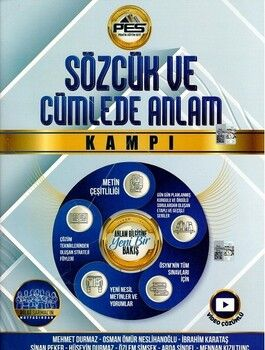 Pes Yayınları Sözcük ve Cümlede Anlam Kampı