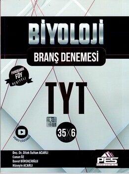 PES Yayınları TYT Biyoloji 35 x 6 Branş Denemesi