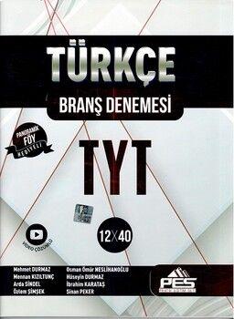 PES Yayınları TYT Türkçe 12 x 40 Branş Denemesi