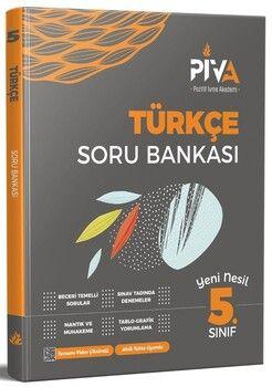 Piva Yayınları 5. Sınıf Türkçe Soru Bankası