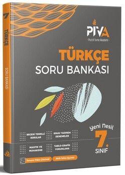 Piva Yayınları 7. Sınıf Türkçe Soru Bankası