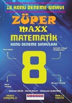 Platon Yayıncılık 8. Sınıf LGS Züper Maxx Matematik Konu Denemeleri