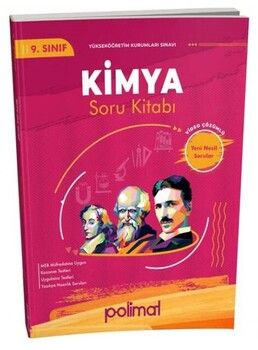 Polimat Yayınları 9. Sınıf Kimya Soru Bankası