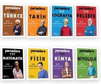 Pomodoro Yayınları TYT Konu Soru Süper Pratik Notlar Seti