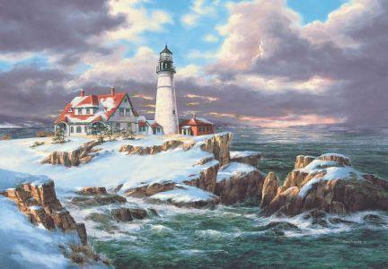 Portland Deniz Feneri  Portland Head Lighthouse260 Parça Yapboz