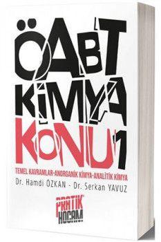 Pratik Hocam Yayınları ÖABT Orbital Kimya Konu Anlatımı 1