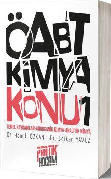 Pratik Hocam Yayınları ÖABT Orbital Kimya Konu Anlatım 1