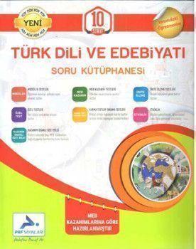 PRF Yayınları 10. Sınıf Türk Dili ve Edebiyatı Soru Kütüphanesi