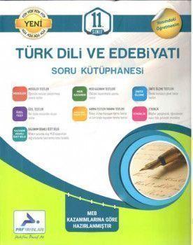 PRF Yayınları 11. Sınıf Türk Dili ve Edebiyatı Soru Kütüphanesi