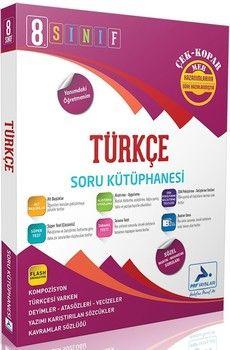 PRF Yayınları 8. Sınıf Türkçe Soru Kütüphanesi