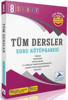 PRF Yayınları 8. Sınıf Tüm Dersler Soru Kütüphanesi Çek Kopar