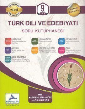 PRF Yayınları 9. Sınıf Türk Dili ve Edebiyatı Soru Kütüphanesi