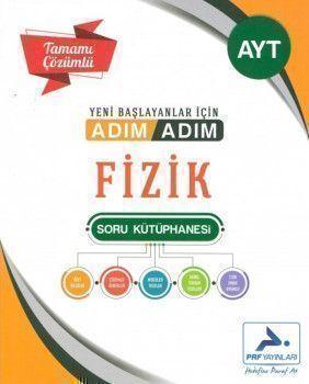 PRF Yayınları AYT Fizik Adım Adım Tamamı Çözümlü Soru Kütüphanesi