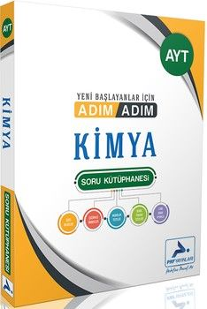 PRF Yayınları AYT Kimya Adım Adım Soru Kütüphanesi