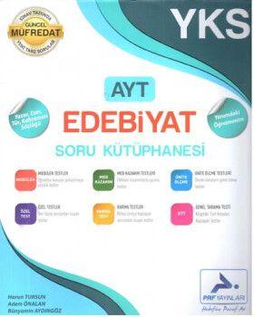 PRF Yayınları AYT Edebiyat Soru Kütüphanesi