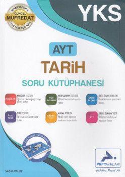 PRF Yayınları AYT Tarih Soru Kütüphanesi