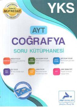 PRF Yayınları AYT Coğrafya Soru Kütüphanesi