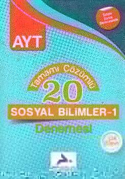 PRF Yayınları AYT Sosyal Bilimler 1 Tamamı Çözümlü 20 Denemesi