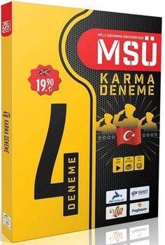 PRF Yayınları MSÜ 4 lü Karma Deneme