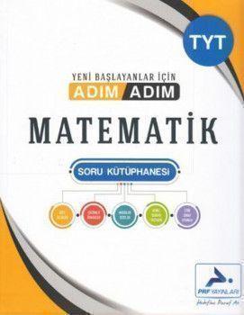 PRF Yayınları TYT Matematik Adım Adım Soru Kütüphanesi