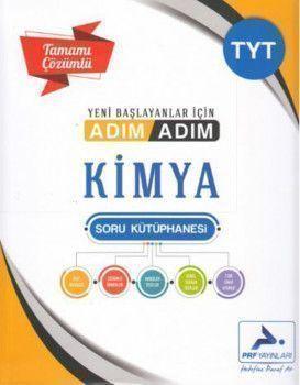 PRF Yayınları TYT Kimya Adım Adım Tamamı Çözümlü Soru Kütüphanesi
