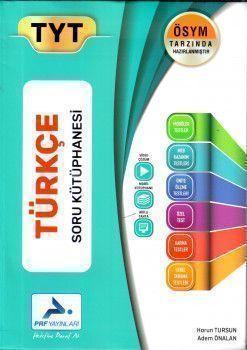 PRF Yayınları TYT Türkçe Ösym Tarzında Hazırlanmış Soru Kütüphanesi