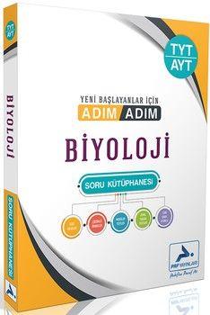 PRF Yayınları TYT AYT Biyoloji Adım Adım Soru Kütüphanesi