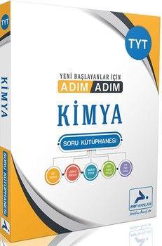 PRF Yayınları TYT Kimya Adım Adım Soru Kütüphanesi