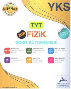PRF Yayınları TYT Zor Fizik Soru Kütüphanesi
