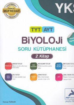 PRF Yayınları TYT AYT Biyoloji Soru Kütüphanesi 2. Kitap