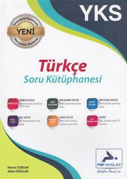 PRF  Yayınları YKS Türkçe Soru Kütüphanesi