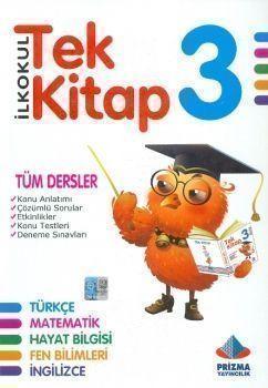 Prizma Yayınları 3. Sınıf Tüm Dersler Tek Kitap Konu Anlatımlı