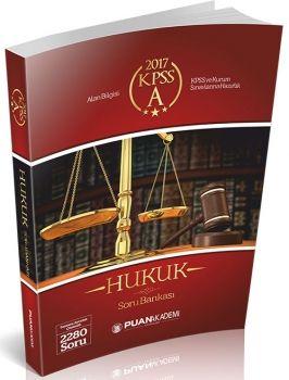 Puan 2017 KPSS A Grubu Hukuk Soru Bankası