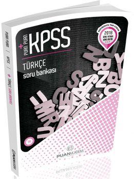 Puan Akademi  2018 KPSS Puan Puan Türkçe Soru Bankası