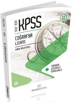 Puan Akademi 2018 KPSS TEXT TEXT Coğrafya Lisans Konu Anlatımlı