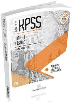 Puan Akademi 2018 KPSS TEXT TEXT Tarih Lisans Konu Anlatımlı