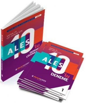 Puan Akademi ALES Sayısal ve Eşit Ağırlık için 10 lu Deneme Sınavı