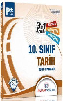Puan Yayınları 10. Sınıf Tarih 3 ü 1 Arada Soru Bankası
