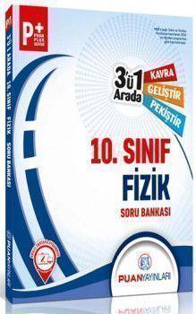 Puan Yayınları 10. Sınıf Fizik 3 ü 1 Arada Soru Bankası