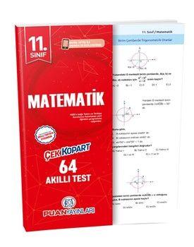 Puan Yayınları 11. Sınıf Matematik Akıllı Test