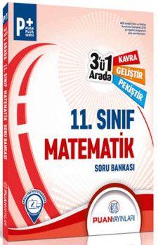 Puan Yayınları 11. Sınıf Matematik 3 ü 1 Arada Soru Bankası