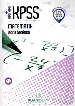 Puan Yayınları 2018 KPSS Matematik Soru Bankası