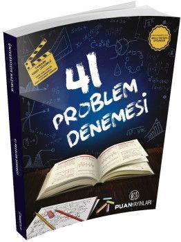 Puan Yayınları 41 Problem Denemesi