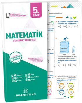 Puan Yayınları 5. Sınıf Matematik Akıllı Test