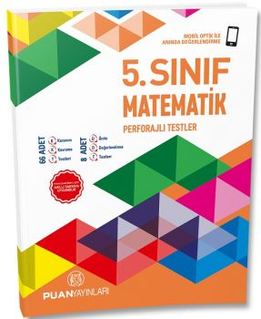 Puan Yayınları 5. Sınıf Matematik Perforajlı Testler